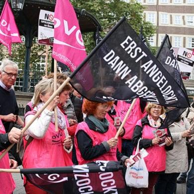 Demo in München gegen Abzocke durch Politik und Krankenkassen