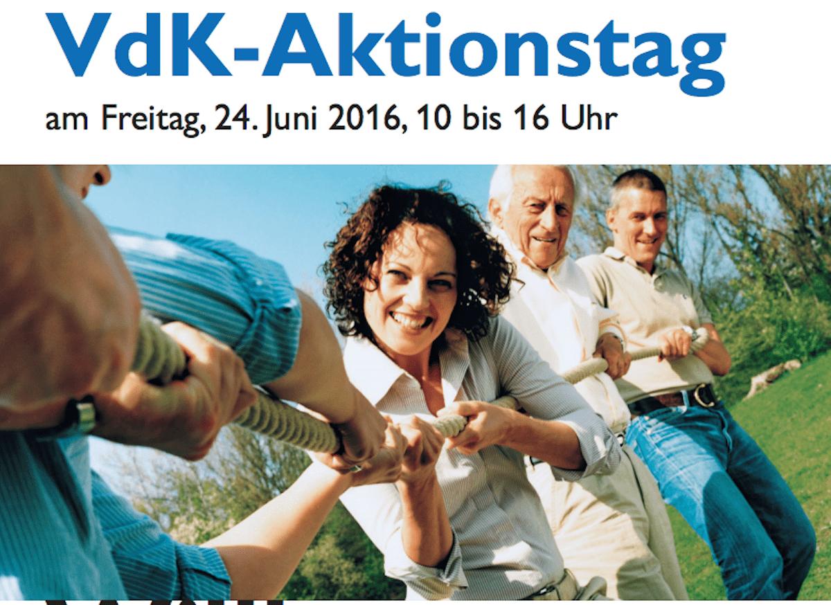 Aktionstag des VdK Bayern