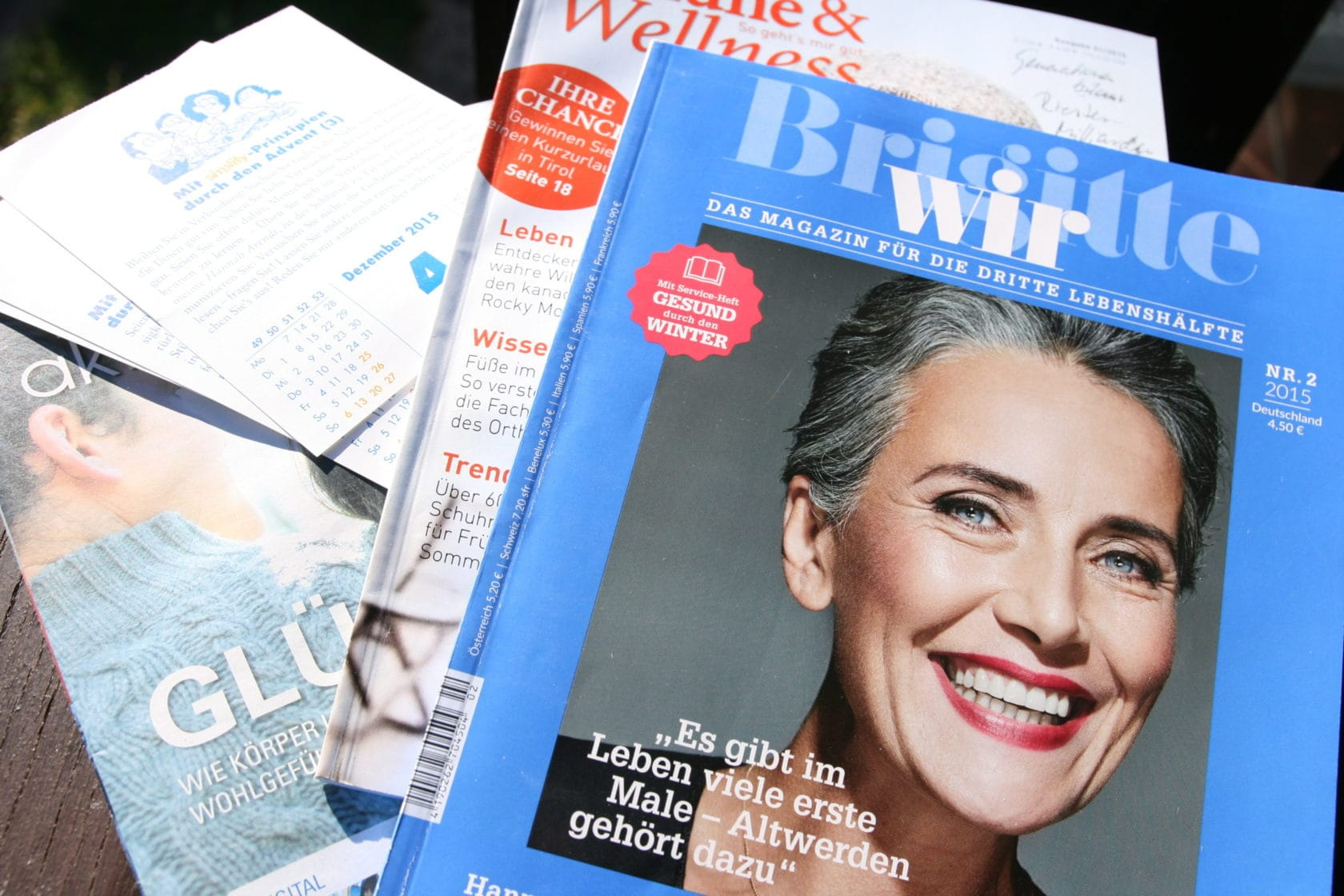 Brigitte Wir - das Magazin für Babyboomerinnen