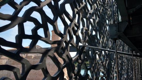 Das filigrane Spitzenwerk aus Beton - von innen gesehen