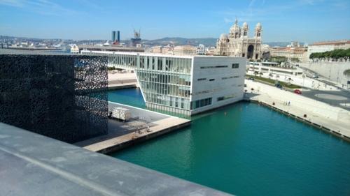 Das Museum Mucem in Marseille