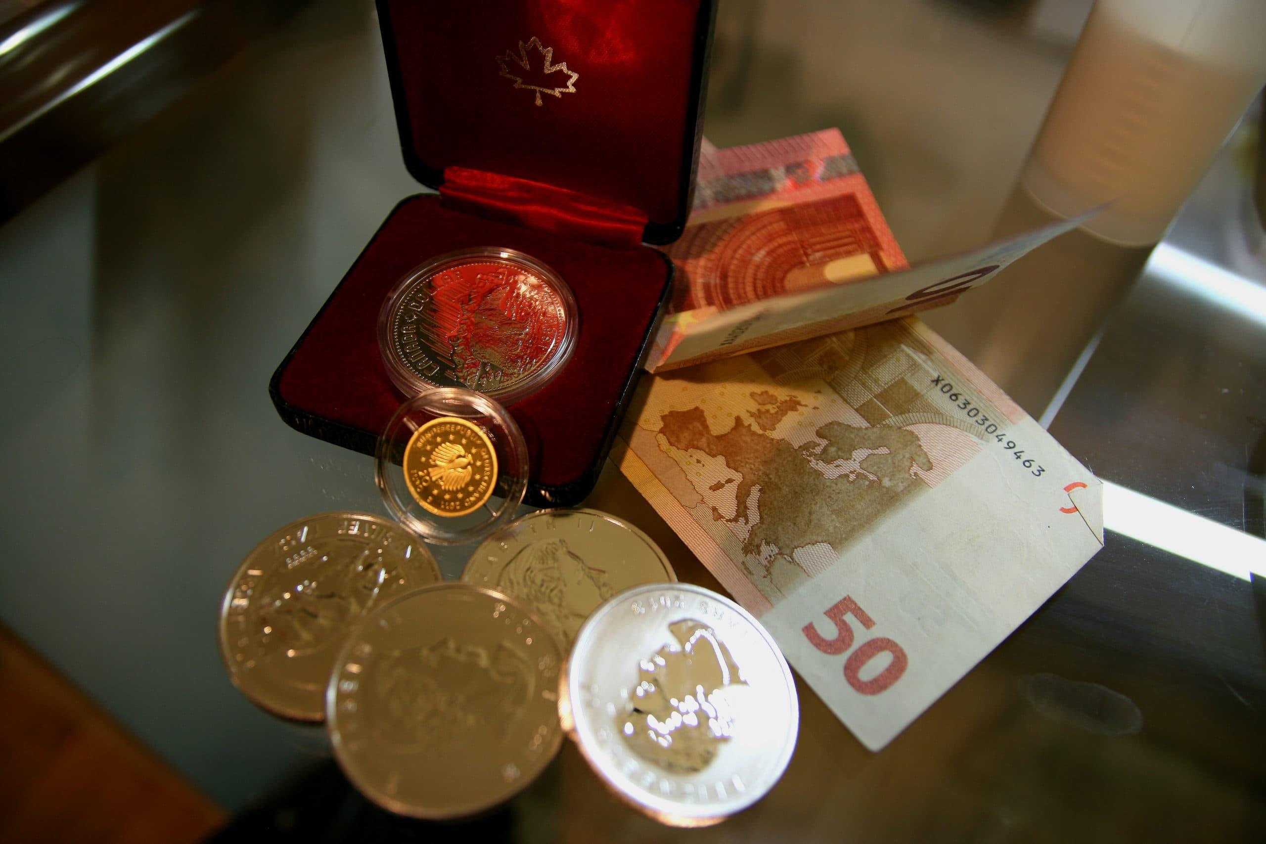 Gold wertbeständiger als Geld