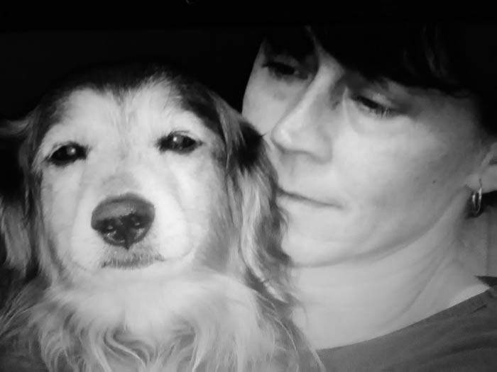 Eddy - 17 Jahre lang Begleiter von Regina Mireider