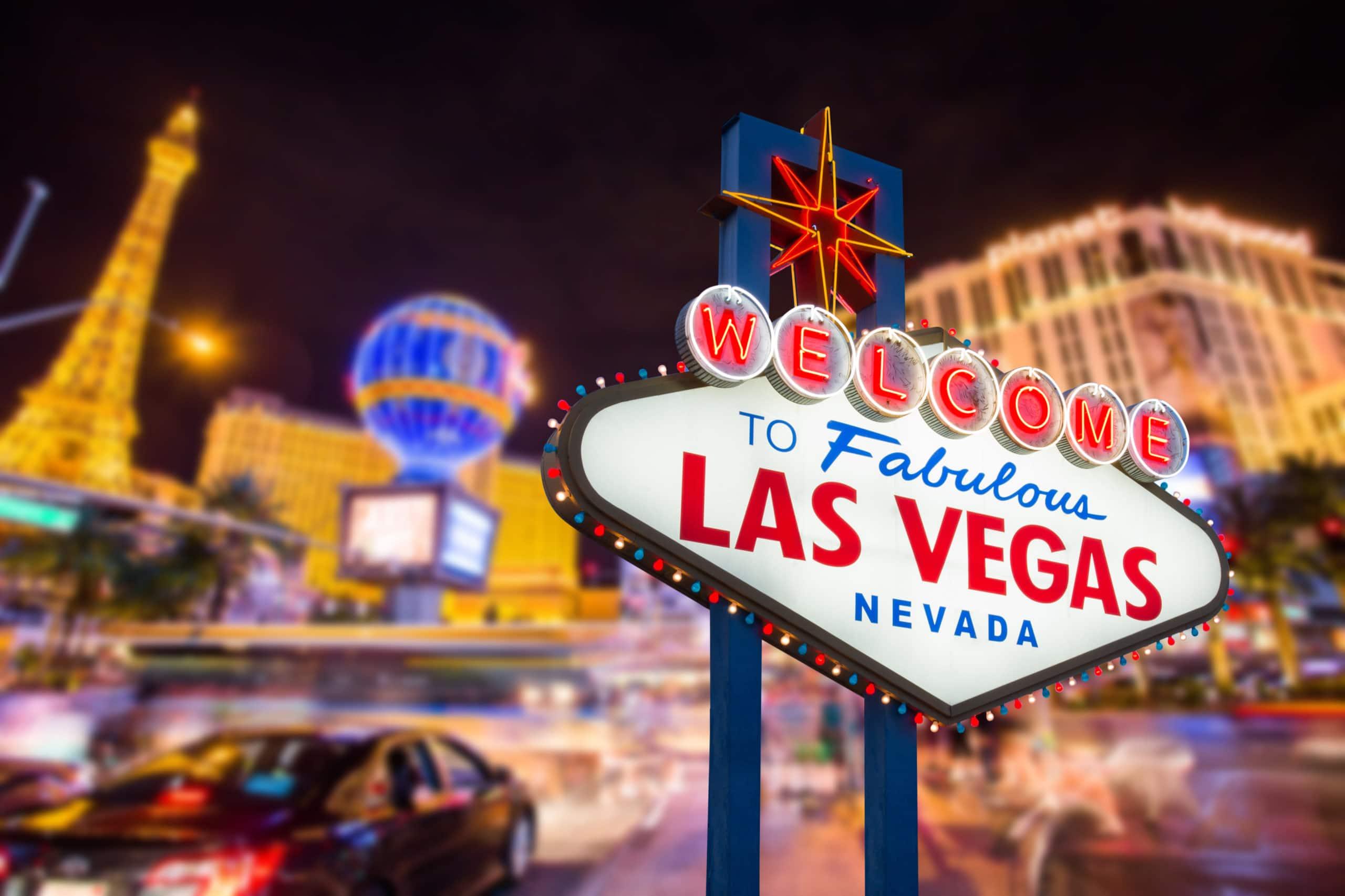 Spielerparadies Las Vegas - die bekannteste Casino-City foto: shutterstock
