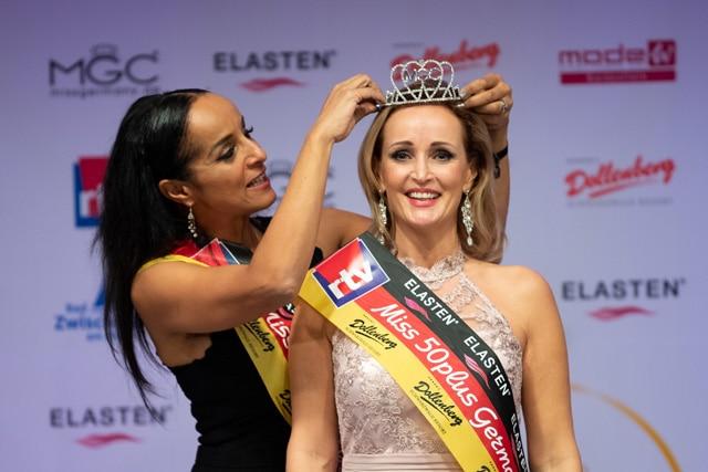 Miss 50plus Germany 2019 ist eine Sächsin Bildrechte: dpa