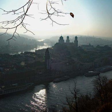 Passau als Endpunkt des Goldsteigs