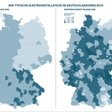 Rentner-Kaufkraft in Deutschland