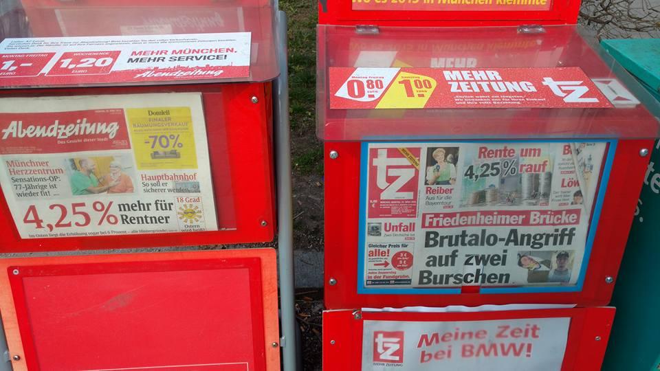 Renten-Schlagzeilen