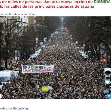 Spaniens Rentner revoltieren